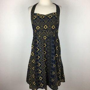 Edme & Estelle Halter Dress size 8